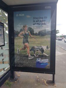 Police job ad