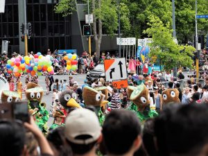 Farmer's Santa Parade in Auckland