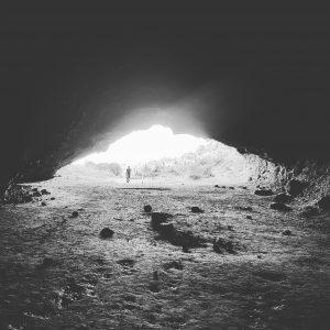 Whatipu cave