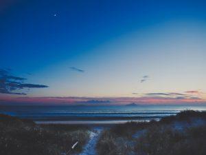 Dawn at Uretiti beach