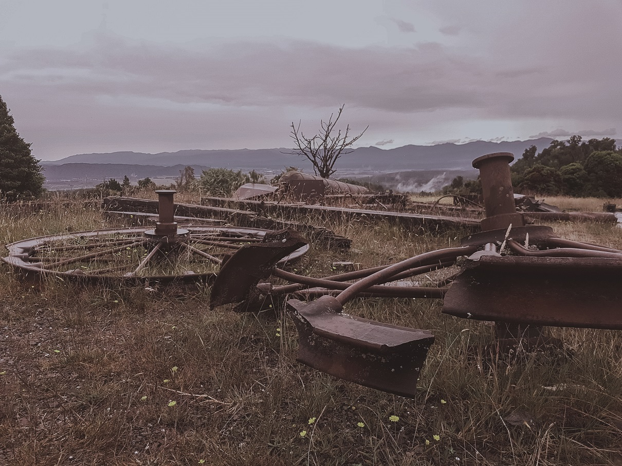 ghost town in West Coast, New Zealand - travel blog New Zealand