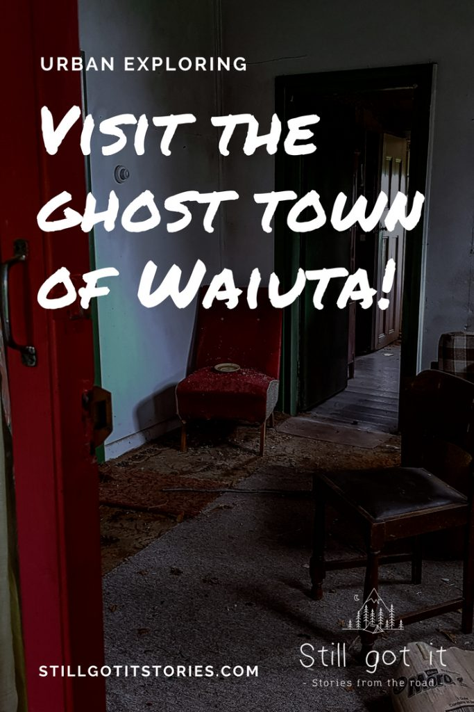 Fan of abandoned places? Check out the ghost town of Waiuta in New Zealand!