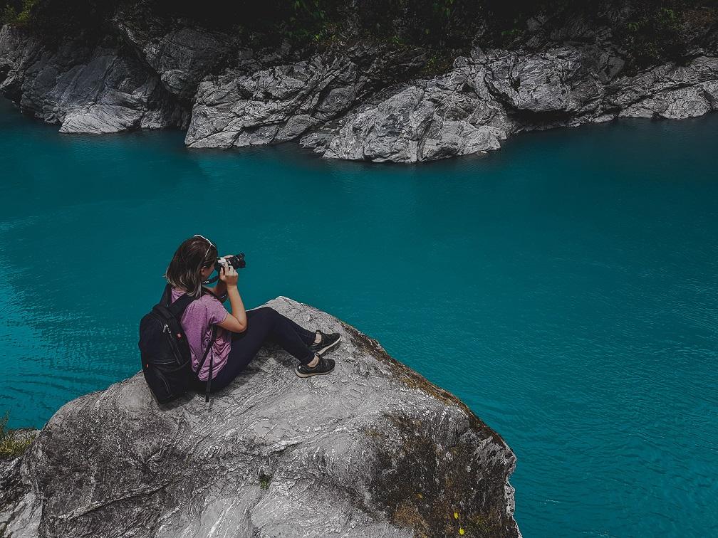 Travel blog New Zealand, West Coast, Hokitika Gorge