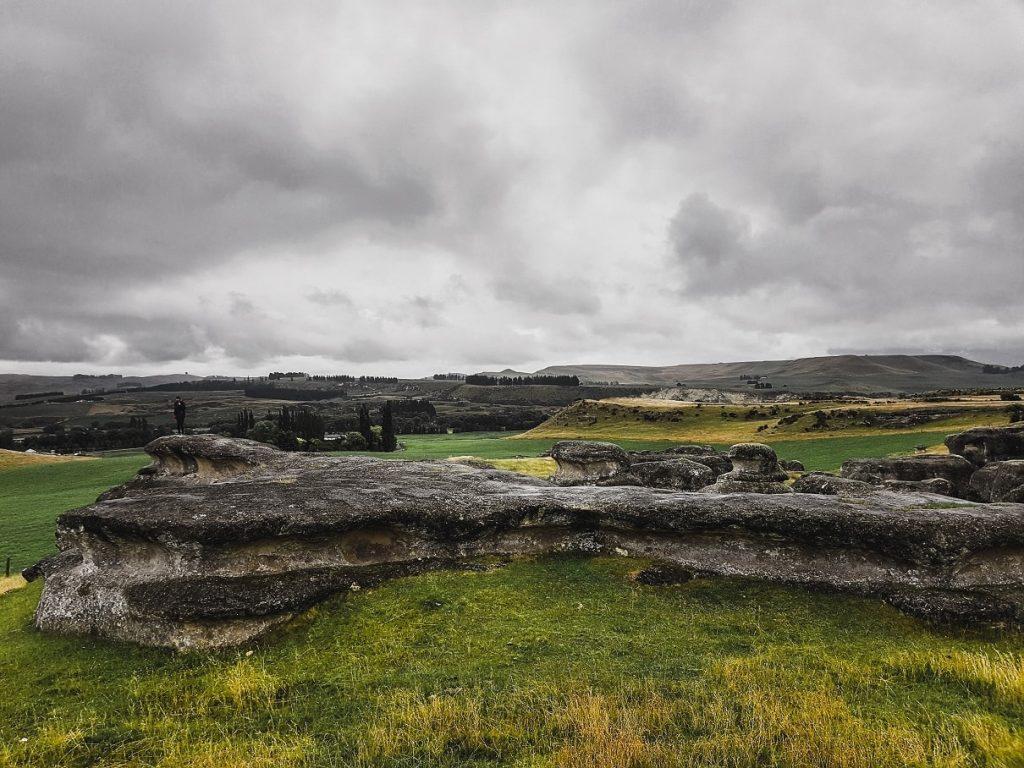 Elephant Rocks in North Otago, New Zealand