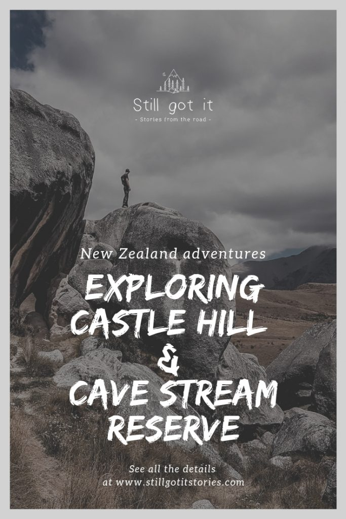 Exploring Castle Hill and Cave Stream Reserve pin it