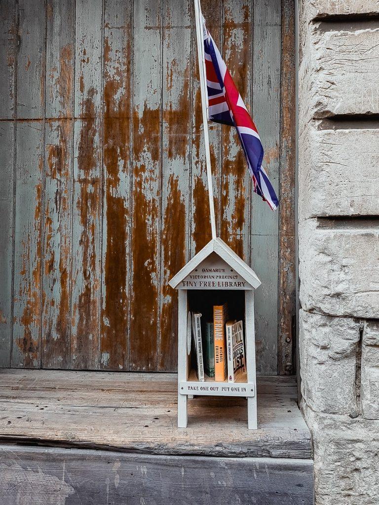 Oamaru's tiny free library