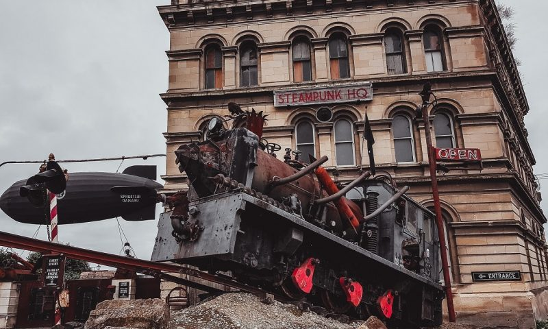The Steampunk HQ museum in Oamaru
