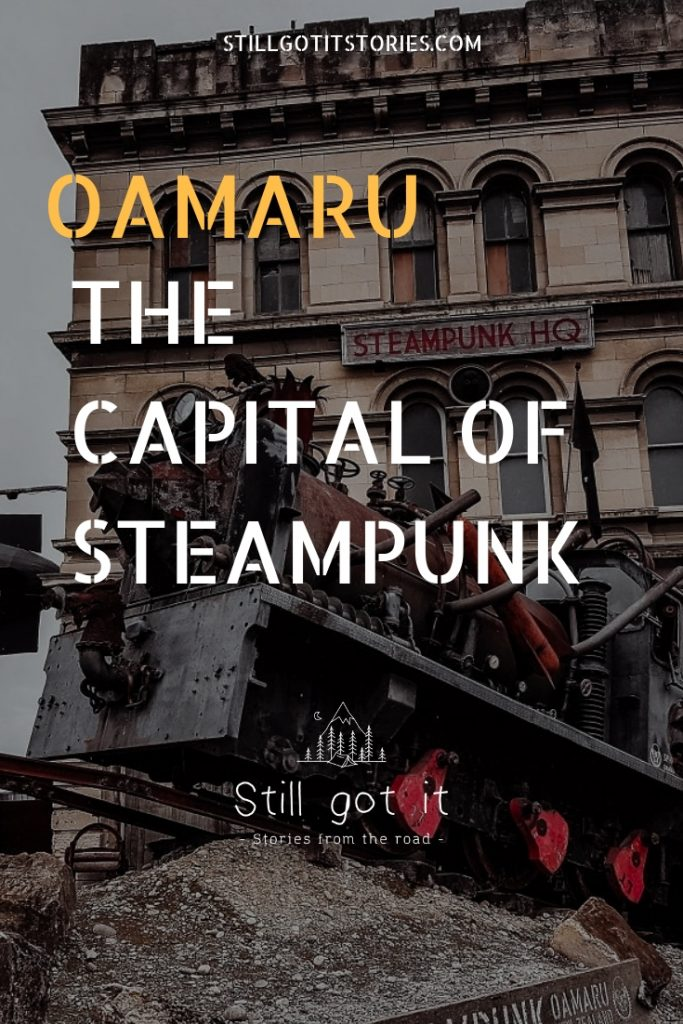 Oamaru - the world capital of steampunk