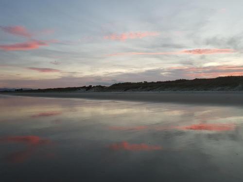 Uretiti bay sunset