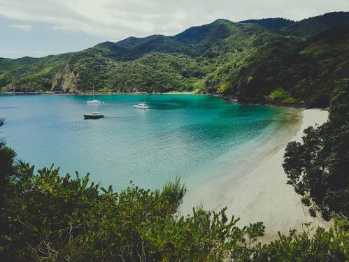 The Bay of Islands, Northland New Zealand